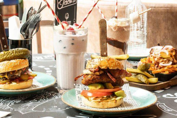 Monterey Jacks Burgers and shakes